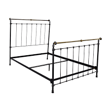 Iron Sleigh Bed 41 Off Charles P Rogers Charles P Rogers Iron And Brass
