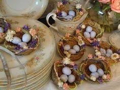 Pretty Easter Table Decorations by Recipes Easter Nest And Centerpieces