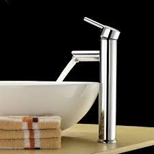 vessel sinks waterfall vessel sink faucet installation kraus