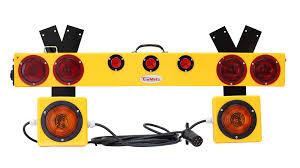 wireless tow light bar tm48mh sk wireless light bar kit with outrigger strobes