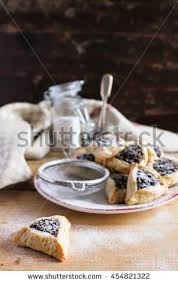 hamantaschen poppy seed hamantaschen stock images royalty free images vectors