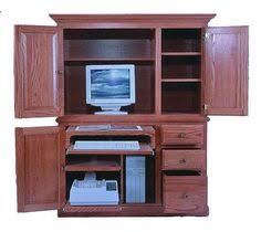 Amish Computer Armoire Metro 41 Inch Computer Armoire By Winners Only Conlin S