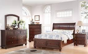 Storage Bedroom Set Soft Brown Cherry Storage Bedroom Set From Avalon Furniture