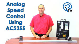 analog speed control using acs355 youtube
