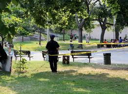Park Bench Scene Man Fatally Stabbed In Nyc Park Ny Daily News