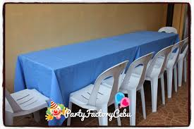 Party Tables And Chairs For Rent Welcome To Partyfactory Cebu Table Set Up