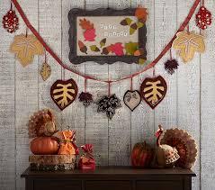 thanksgiving leaf garland pottery barn