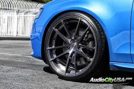 audi titanium wheels 19 staggered stance wheels sc1 brush titanium rims st003 2