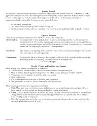 Reference Resume Format Two Types Of Resumes Resume For Your Job Application