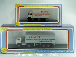 tesco albion box van u0026 leyland octopus truck model 1 76 oxford