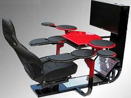 Desk Arm Chair Design Ideas Cheap Gaming Desk Cave Pinterest Gaming Desk Desks And