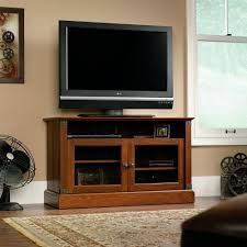 Media Center Furniture by Amazon Com Sauder Carson Forge Panel Tv Stand Washington Cherry