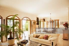 luxury livingroom and foyer stock photo getty images