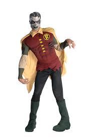 amazon com rubie u0027s men u0027s dc comics muscle chest zombie robin