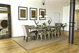 breathtaking dining room rug size contemporary best idea home