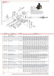 massey ferguson hydraulic pumps page 286 sparex parts lists
