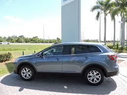 2015 used mazda cx 9 fwd 4dr sport at royal palm mazda serving