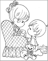 happy mother u0027s day mom by kids coloring pages for kids dtg