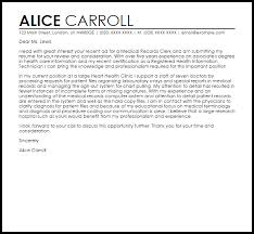 cover letter examples for clerical positions cover scanning clerk
