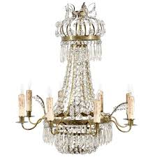 Swedish Chandelier Swedish Chandelier With Six Lights Circa 1850 For Sale At