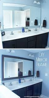 diy how to frame a bathroom mirror this is a great beginner u0027s