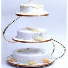 gold wedding cake stand 48 wedding cake plates and stands 6 tier cascading wedding cake