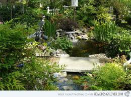 Backyard Pond Landscaping Ideas 15 Pond Landscaping Designs For Your Garden Home Design Lover