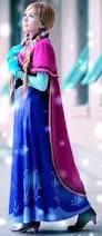 Princess Anna Halloween Costume Sewing Pattern Frozen Costume Disney Princess Anna