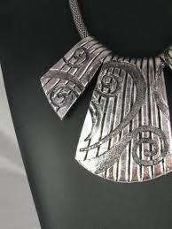 big necklace silver images Big and bold silver necklace jpg