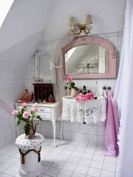 Chic Bathroom Ideas by Shabby Chic Bathroom Decor Vintage Pink Bathroom Accessories Pink