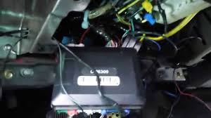 basic alarm install ford ranger 2005 youtube