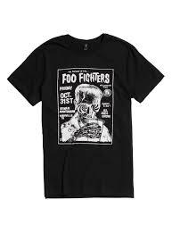 T Shirt Halloween Foo Fighters Halloween Show Poster T Shirt Topic