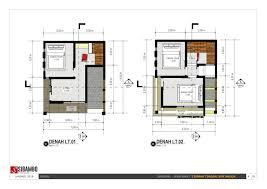 layout ruangan rumah minimalis desain rumah sederhana di tamanradensaleh properti syariah