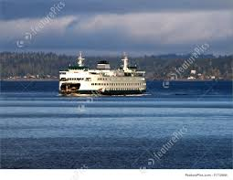 Stae Of Washington Stock Photos by Puget Sound Ferry Stock Photo I1712646 At Featurepics