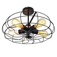 vintage style ceiling fan light amazon com