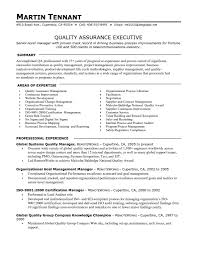 Process Resume Qa Resume Objective Qa Sample Resume Cover Letter Good Looking