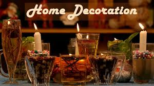 home decor on diwali festival with candles द व ल