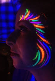 best 10 glow face paint ideas on pinterest diy blacklight party