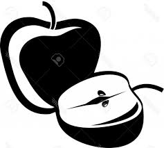 simple apple drawing how to draw an apple real easy spoken