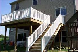 outdoor fabulous building deck steps balcony stairs design deck