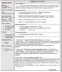 Example Of A One Page Resume by One Page Resume Template Quality Assurance Executive One Page