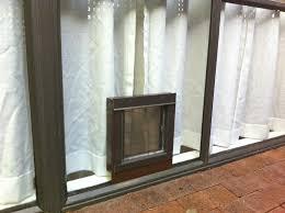Glass Door With Dog Door Built In by Installation Pictures Dog Door For Sliding Glass Doors Plexidor
