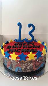 spiderman jess bakes
