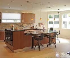 designer kitchen islands bi level kitchen island home design
