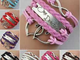 leather charm bracelet ebay images Tremendous one direction bracelets 37 bracelet friendship by love jpg