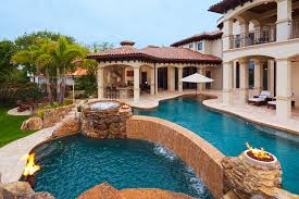 Backyard Designs With Pool Brilliant Swimming Pools With Waterfalls For Decorating