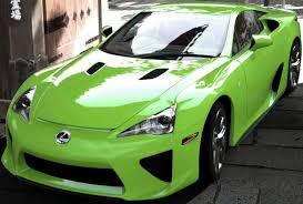 lexus green lexus cars simplified