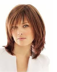 shoulder length hairstyles with bangs over 40 cute mid length hairstyles for women over 40 mid length