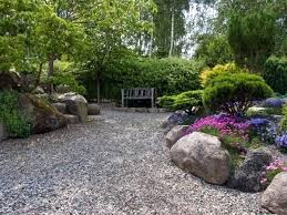 Garden Stones And Rocks Landscape Using Stones Colored Rocks For Landscaping Garden Ideas