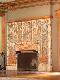 batchelder tile fireplace in the 1913 14 james allen freeman house